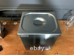 Shield Ultrasonic Cleaner 10L. Barely Used Unit. Heating, Digital, 25kHz
