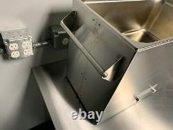 Shield Ultrasonic Cleaner 28L (7.40G) Brand New Unit. Heating, Digital, 25kHz