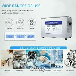 Sonic ULTRA 4.5L Ultrasonic Jewellery Glasses Cleaner Large Tank Heated Timer