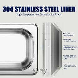 Stainless Steel 15L Liter Industry Heated Ultrasonic Cleaner Heater withTimer US