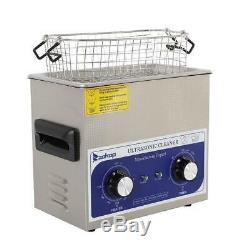 Stainless Steel 3L Liter Industry Heated Ultrasonic Cleaner Heater Timer