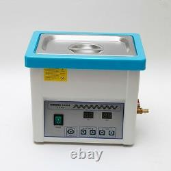 Stainless Steel 5L Liter Industry Heated Ultrasonic Cleaner Heater withTimer