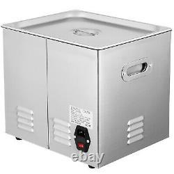 Ultrasonic Cleaner 10L 316 Stainless Steel 200w Heated Clean Glasses