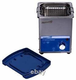Ultrasonic Cleaner 2L Non Heated Tank Size 6 x 5.25 x 4 By Sharpertek