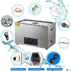 Ultrasonic Cleaner 30 L Liter Stainless Steel Industry Heated Clean Glasses