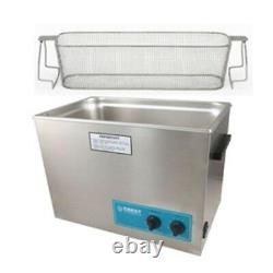 Ultrasonic Cleaner-Heat & Timer-Perforated Basket