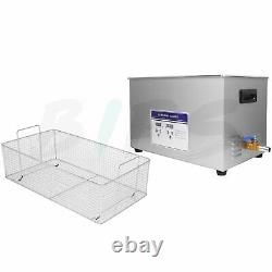 Ultrasonic Cleaner, Industrial 30L Large Heated Ultra Sonic Cleaner, 600W