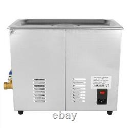 Ultrasonic Cleaner Stainless Steel 6L Industry Heated Heater with Timer Power