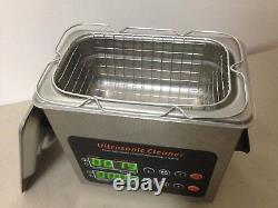 Ultrasonic cleaner Power Changeable & heated hige class 0.7L size promotion qty