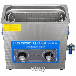 VEVOR 30L Ultrasonic Cleaner Stainless Steel 1100W Industry Lab Heated With Timer