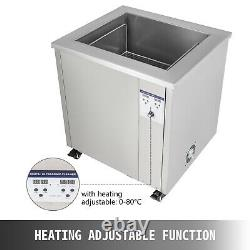 VEVOR 58L Ultrasonic Cleaner Industrial Stainless Steel 1000W Heat Power withTimer