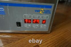 VWR Aquasonic 150D water bath sonic ultrasonic 115 heating dental